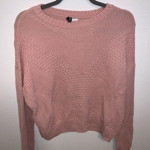 H&M pink sweater - MEDIUM